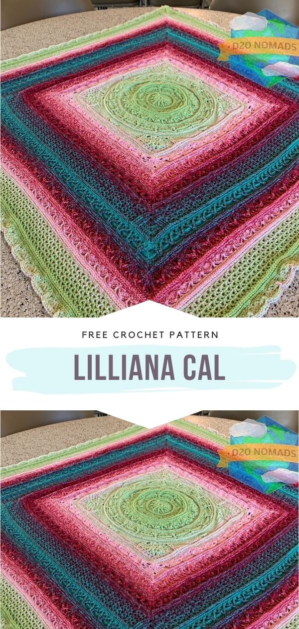 Colorful Crochet Afghan