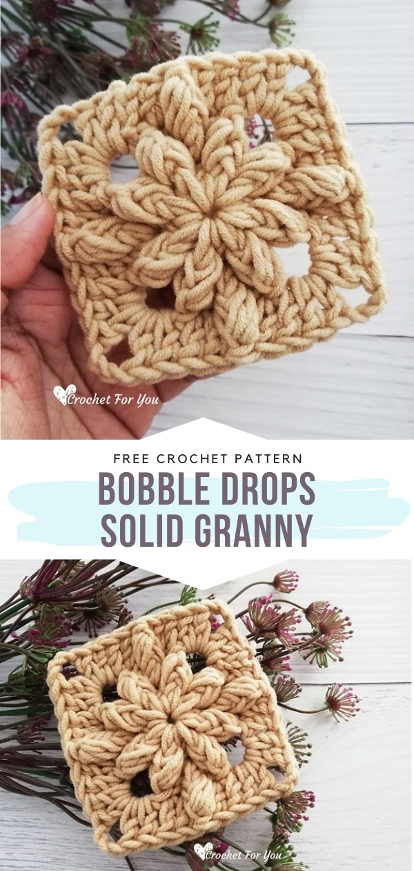Crocheted Granny Square