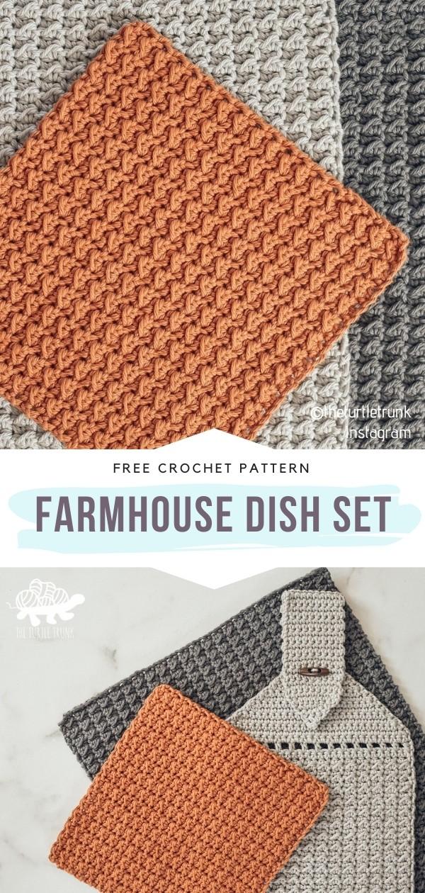 Crochet Dish Set