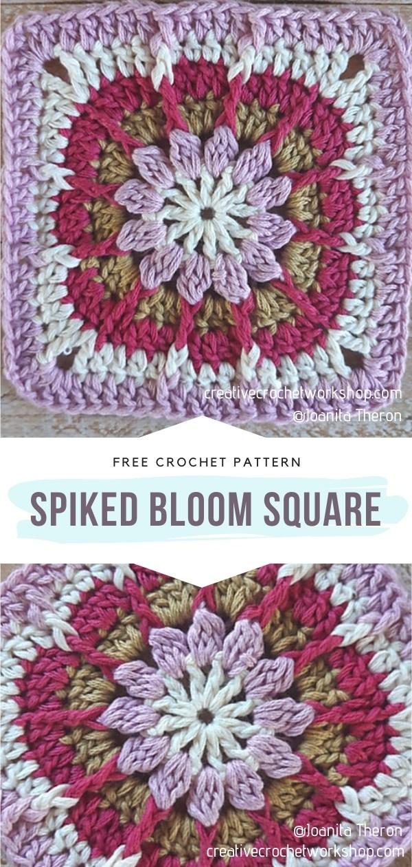 Crocheted Square