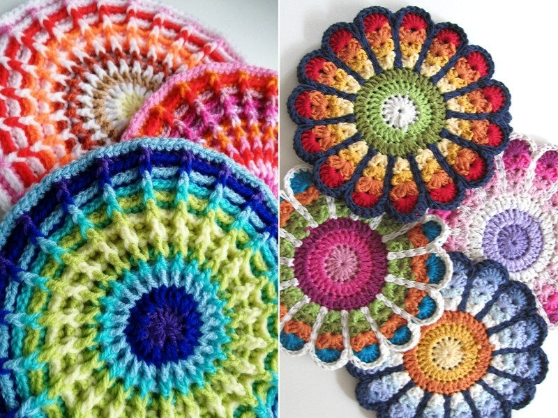 Awesome Potholders Free Crochet Patterns