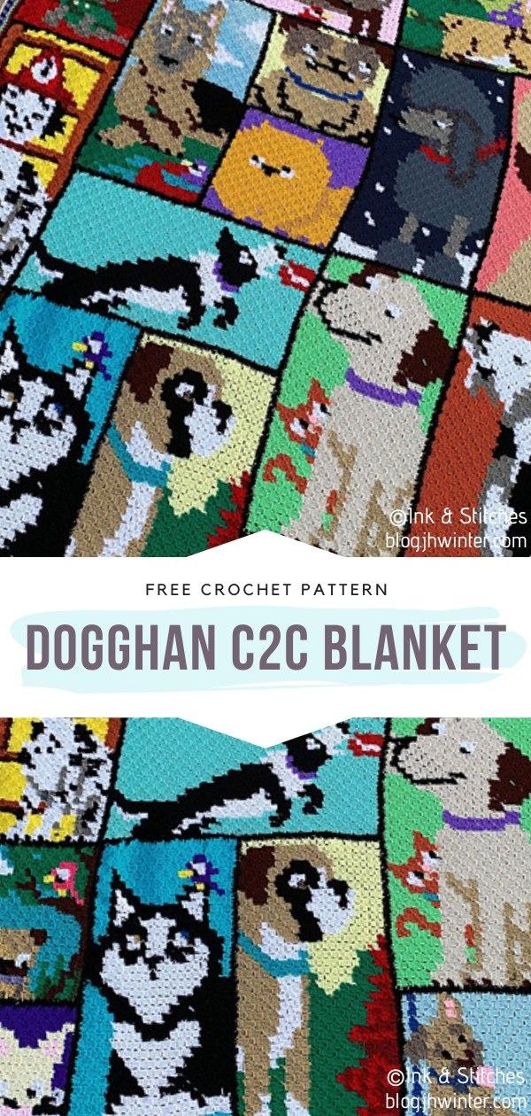 Dogghan C2C Crochet Blanket
