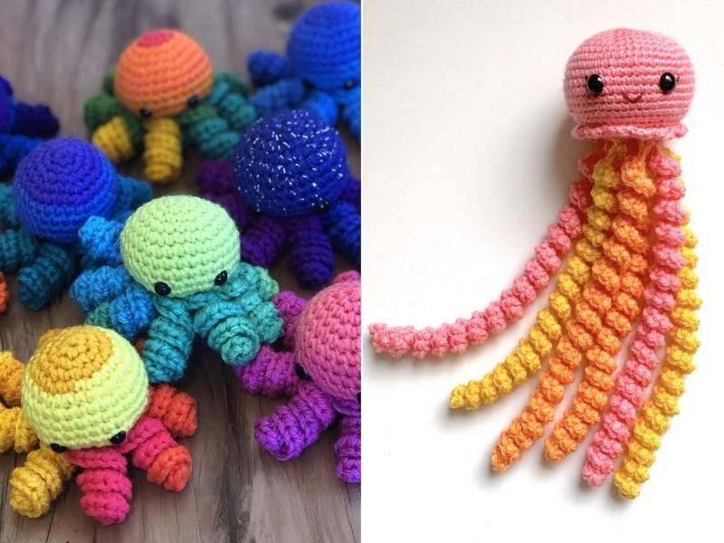 Little Sea Amigurumi Free Crochet Patterns