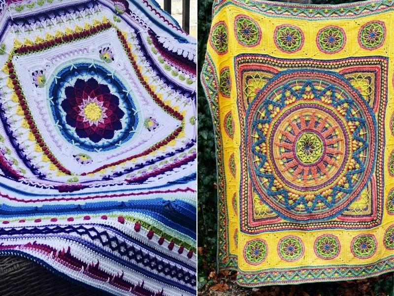 Mind-Blowing Blankets Free Crochet Patterns
