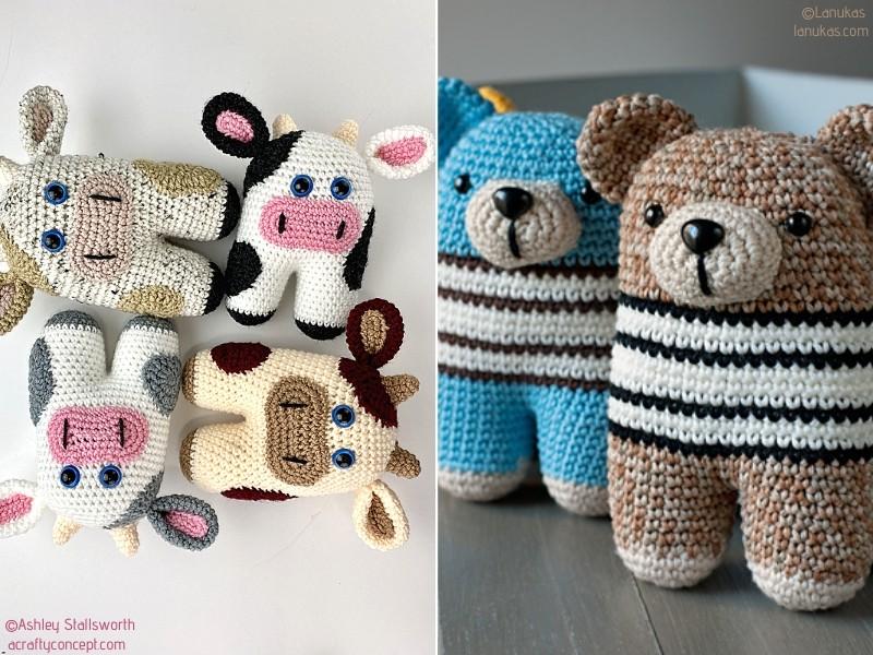 Sweet Amigurumi Toys