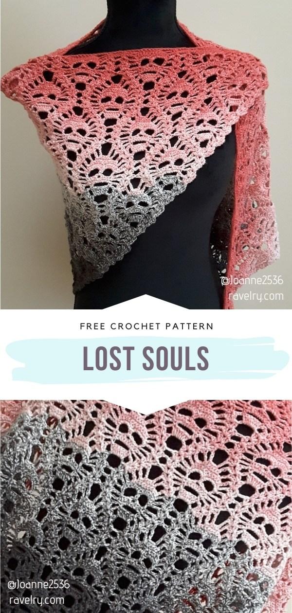 Lost Souls Crochet Shawl