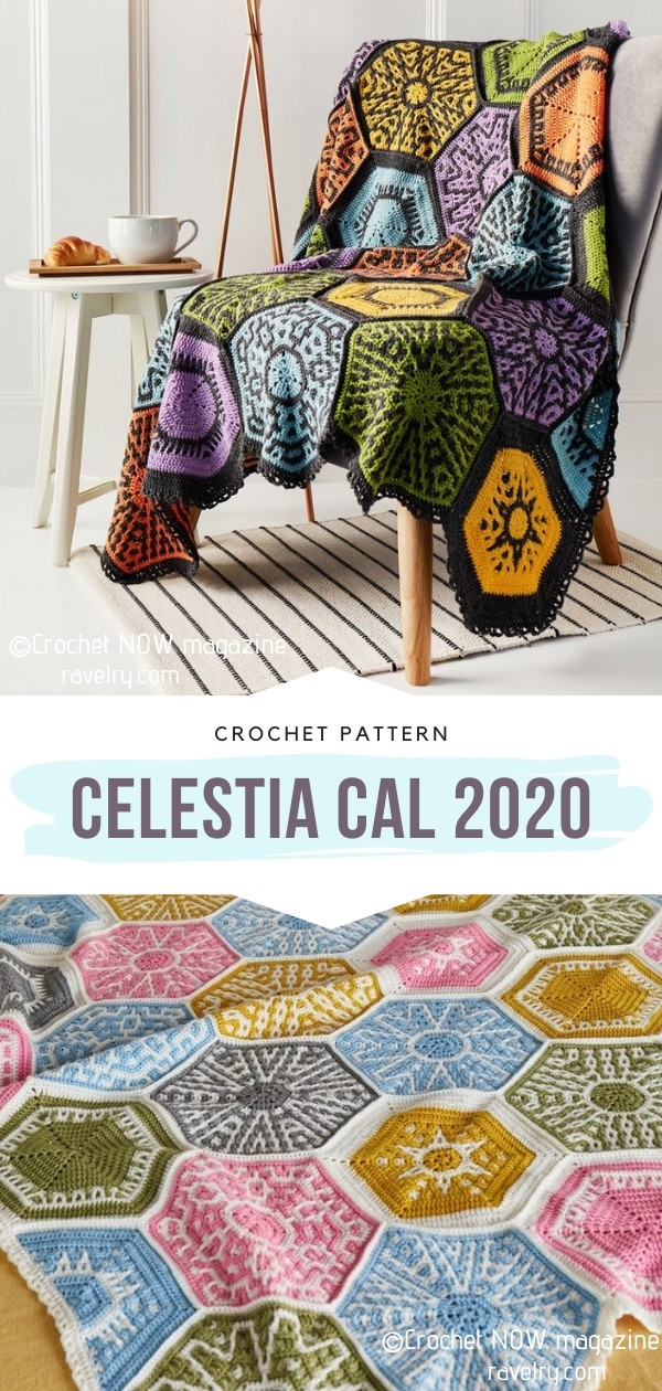 Celestia CAL 2020 Hexagon Blanket