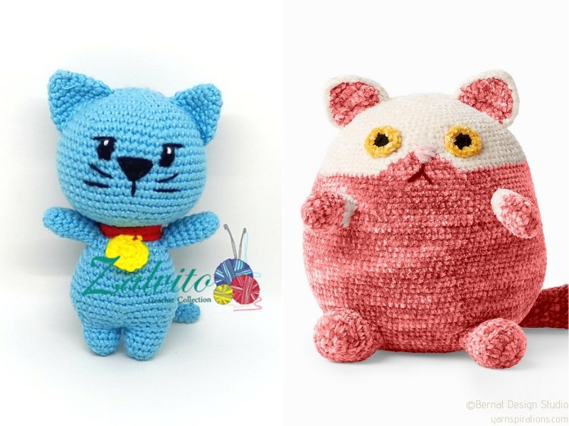 Chubby Kittens Amigurumi Free Crochet Patterns