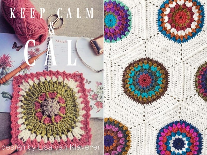 Colorful Circles Free Crochet Patterns