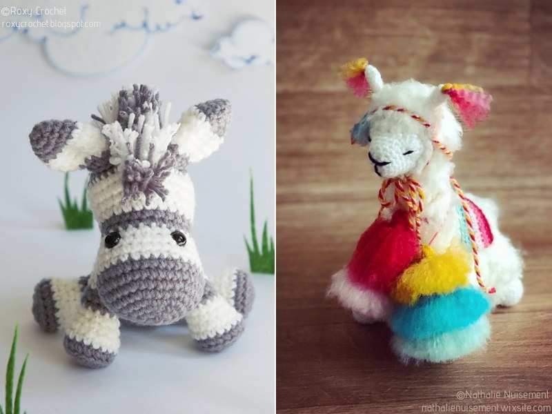 Crazy Cute Amigurumi Animals Free Crochet Patterns
