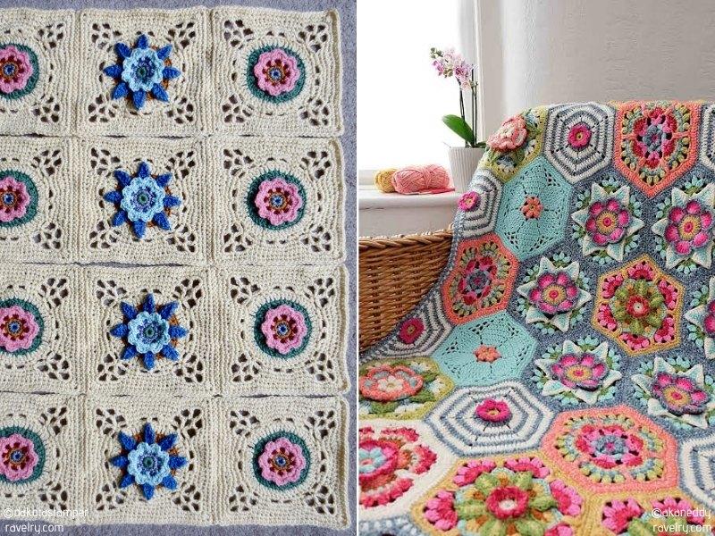 Wonderful Floral Blankets
