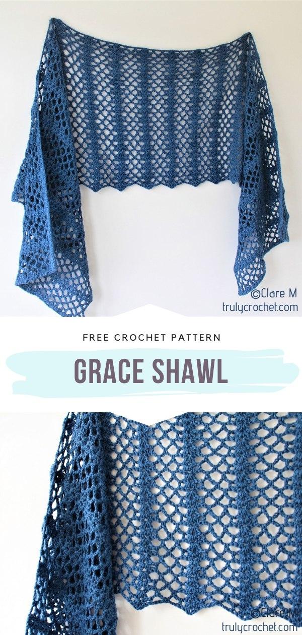 Grace Crochet Shawl