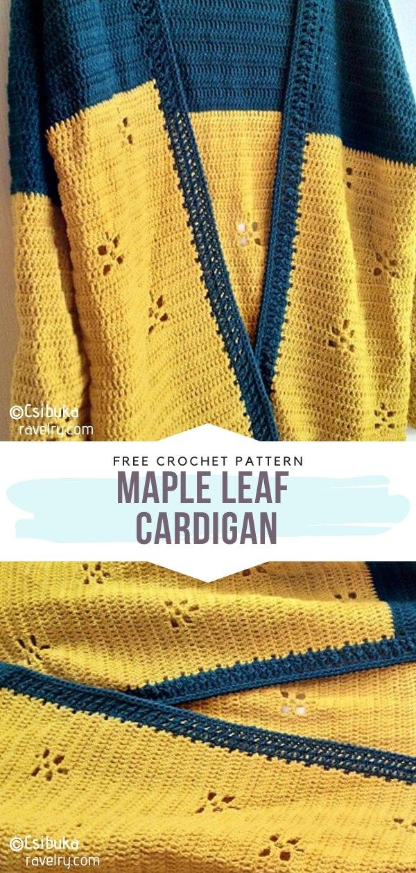 Maple Leaf Cardigan