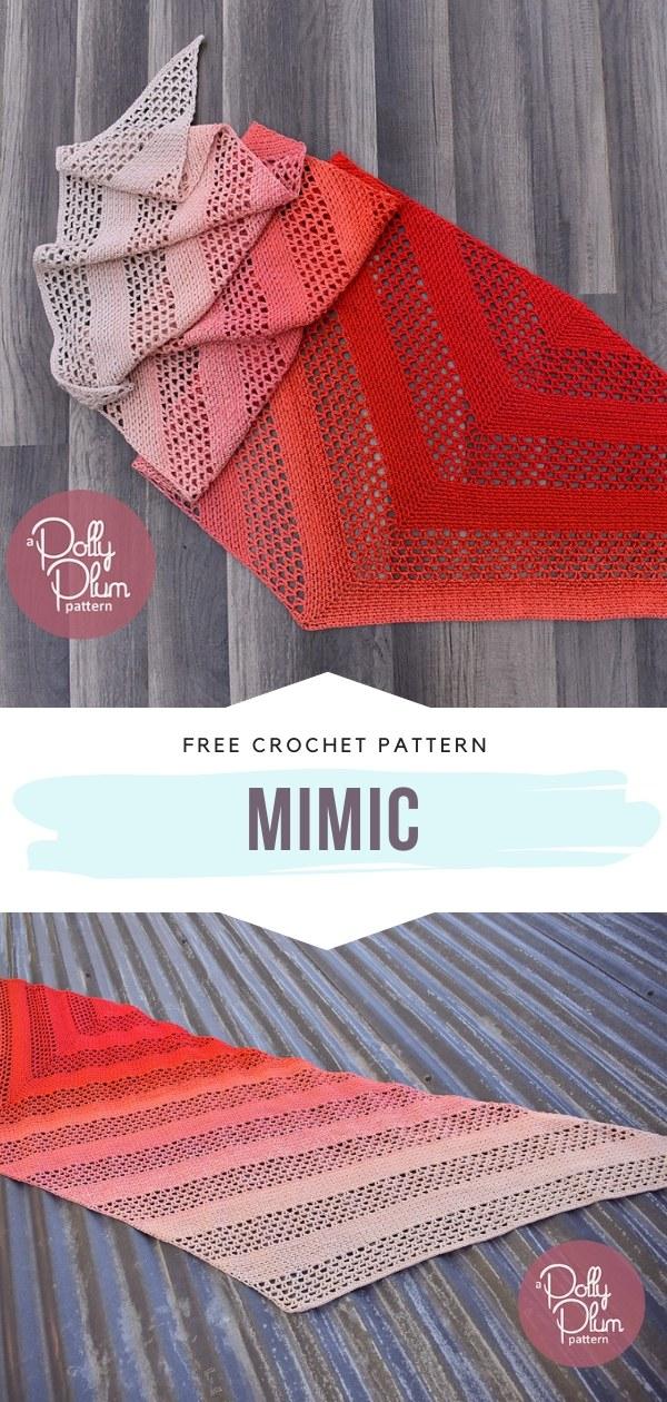 Lacy Crochet Shawl