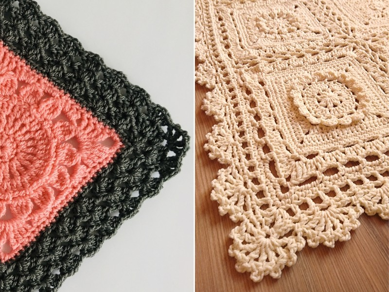 Spectacular Edgings Free Crochet Patterns