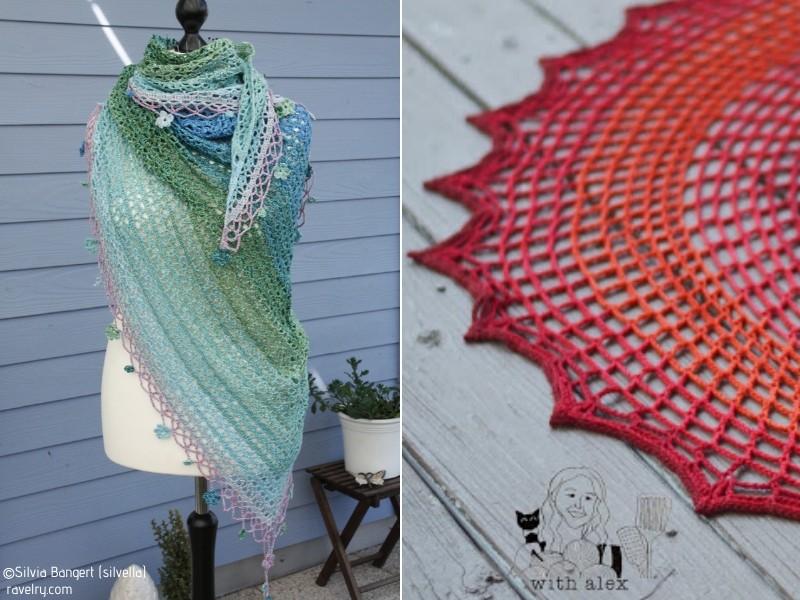 Spectacular Openwork Crochet Shawls