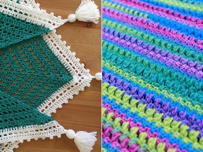 Spring Energy Scarves Free Crochet Patterns