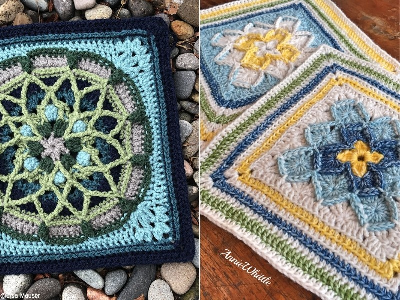 Squares Free Crochet Patterns