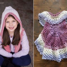 Sweet Little Girl's Vests Free Crochet Patterns