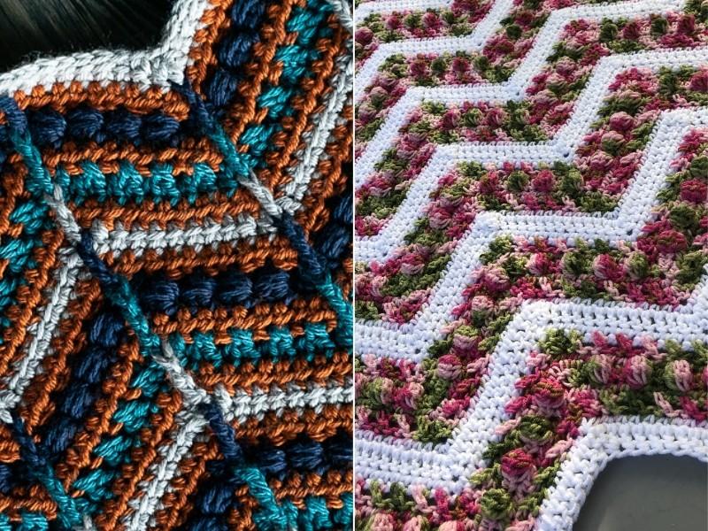 Awesome Chevron Blankets Free Crochet Patterns