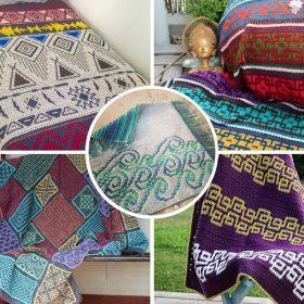 contemporary-mosaic-crochet-blankets