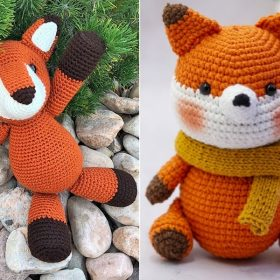 Little Amigurumi Foxes with Free Crochet Patterns