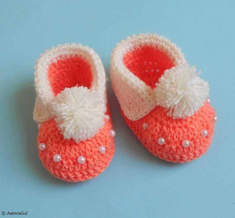 Free Crochet Pattern Easy Baby Booties