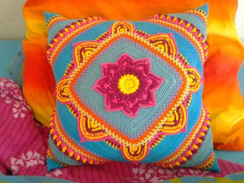 Free Crochet Patterns Marvelous Cushion CALs