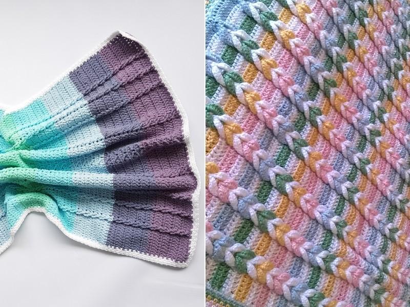 Braided Blankets Free Crochet Patterns