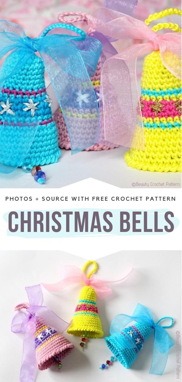 Crochet Christmas Bells