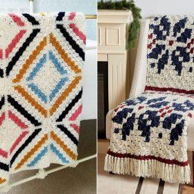 Dreamy C2C Blankets Free Crochet Patterns