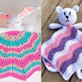 Lovey Baby Blankets Free Crochet Patterns