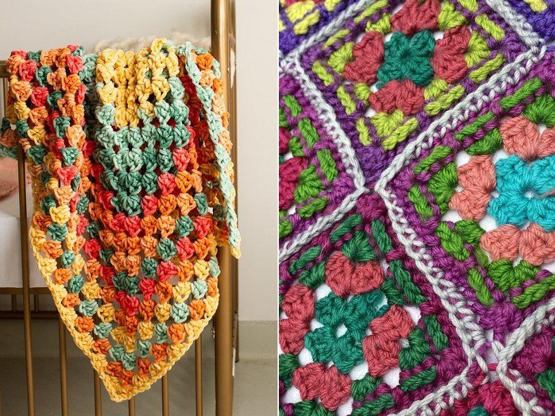 Genius Granny Blankets Free Crochet Patterns