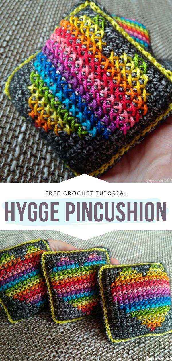 Hygge Pincushion Free Crochet Pattern