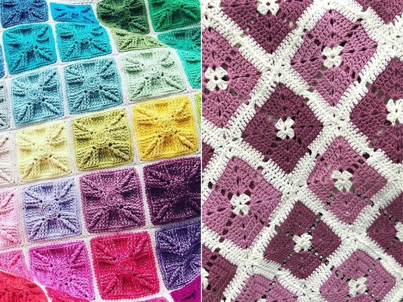 Inspiring Crochet Blankets Free Patterns
