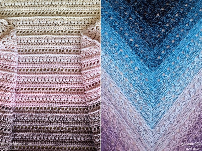 Intricate Delicacy Shawls Free Crochet Patterns