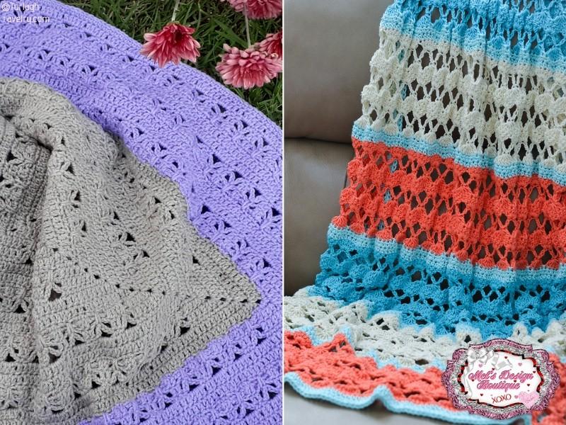 Lovely Summer Crochet Blankets
