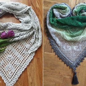 Pretty Romantic Shawls Free Crochet Patterns