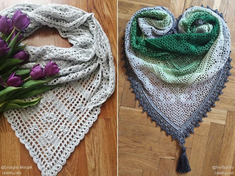 Pretty Romantic Crochet Shawls