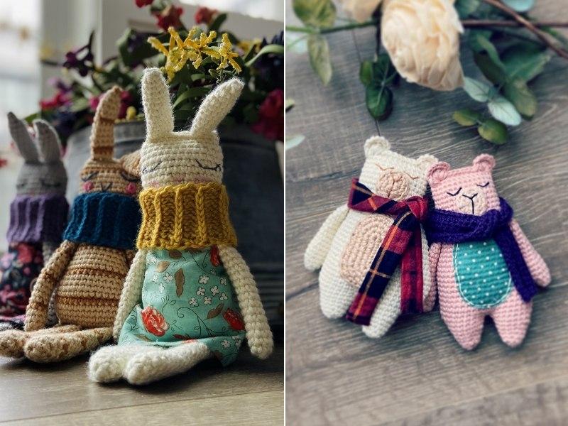 Retro Rag Dolls Free Crochet Patterns