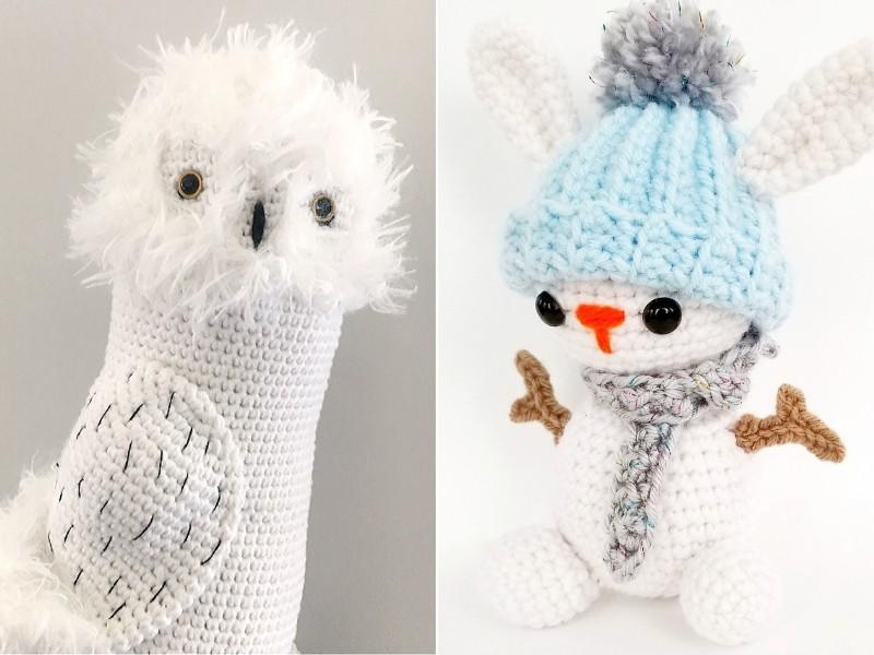 Snowy White Amigurumi Free Crochet Patterns