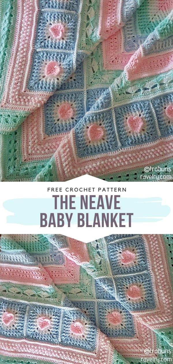 The Neave Crochet Baby Blanket