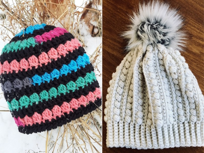 Totally Textured Beanies Free Crochet Patterns