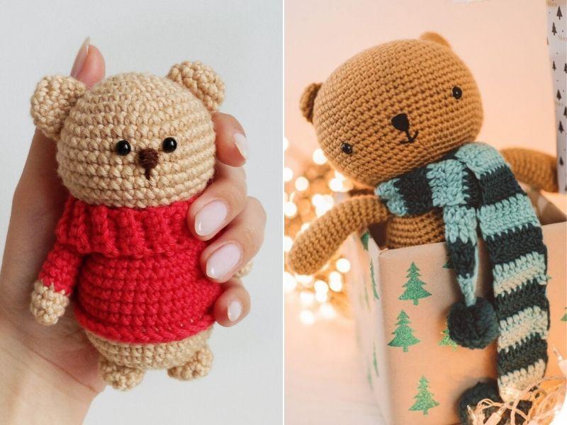 Free Patterns Cuddly Crochet Teddy Bears