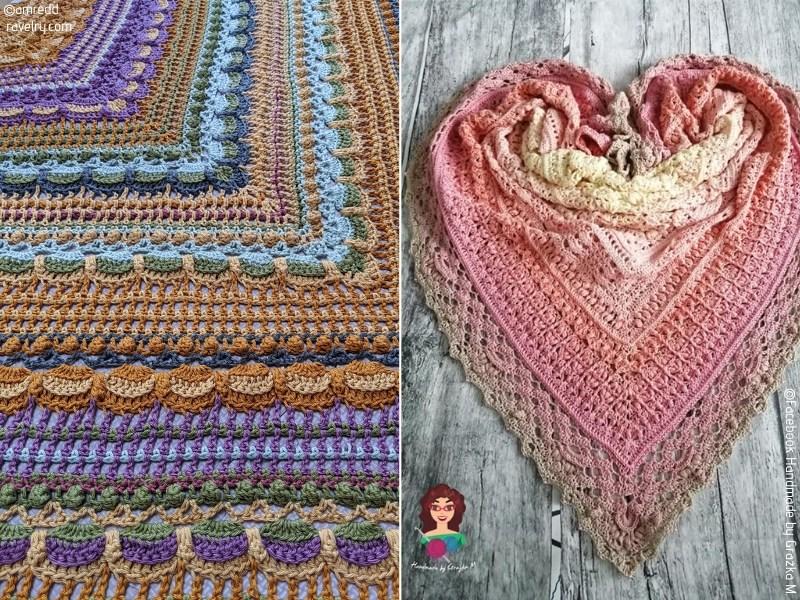 Bedazzling Crochet Shawls