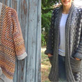 Classy Cardigans Free Crochet Patterns