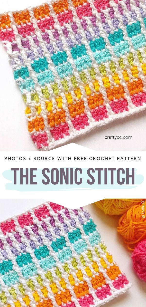 Free Crochet Pattern The Sonic Stitch