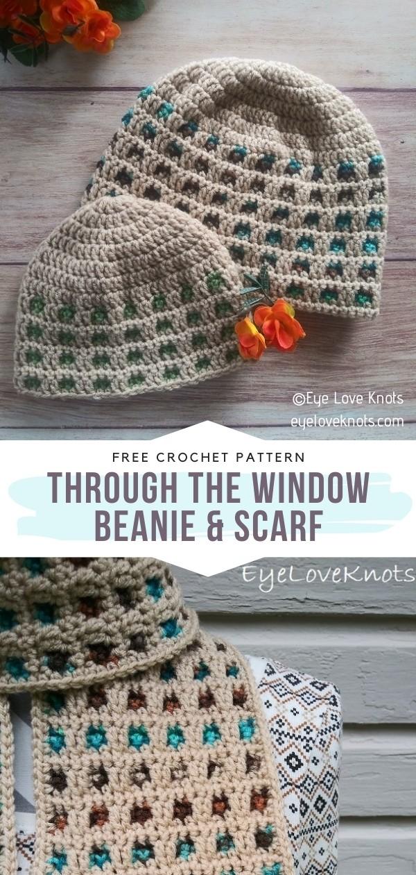 Crochet Beanie & Scarf