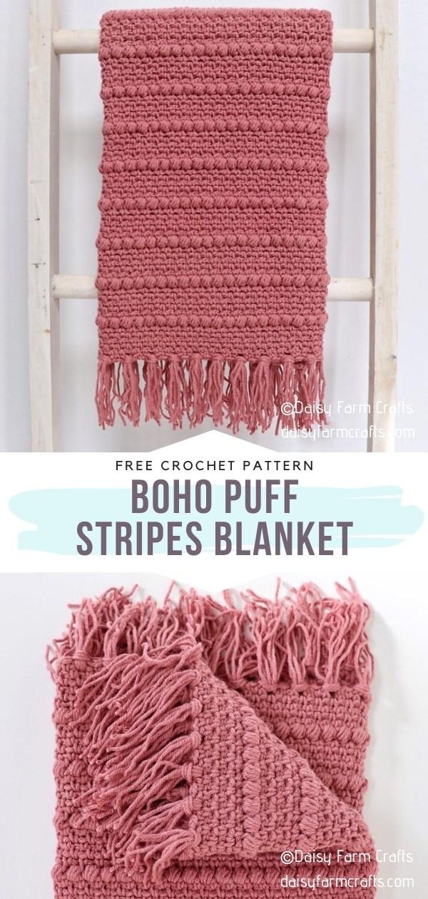 Puff Stripes Blanket