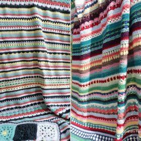 Super Colorful Blanket CAL Free Crochet Pattern
